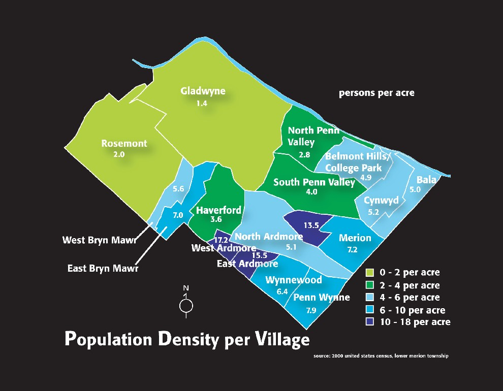 Pop Density by Census Tract
