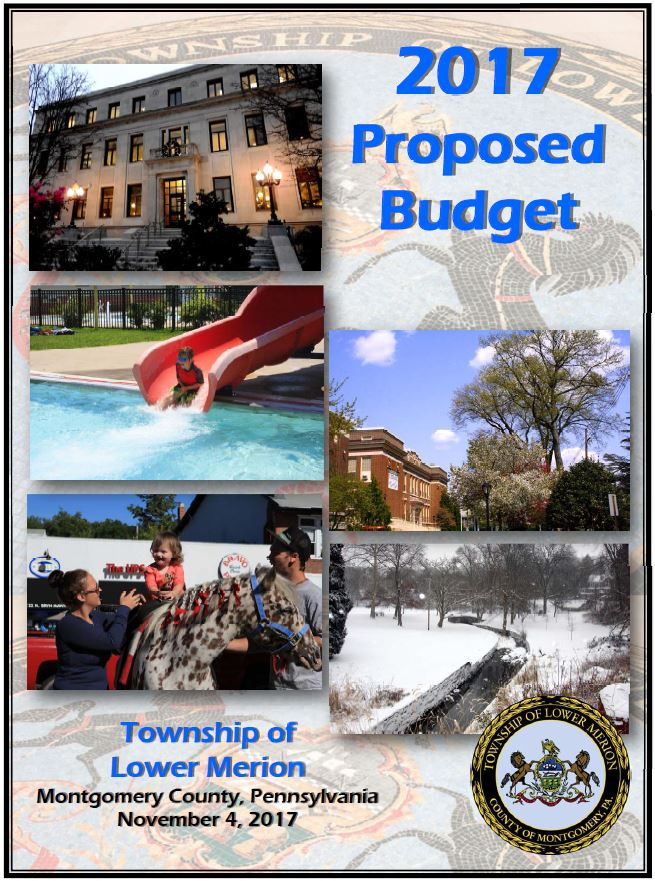 2017 Budget, Proposed Budget, Budget cover