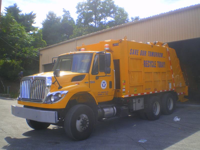 Recycling, truck, Public Works