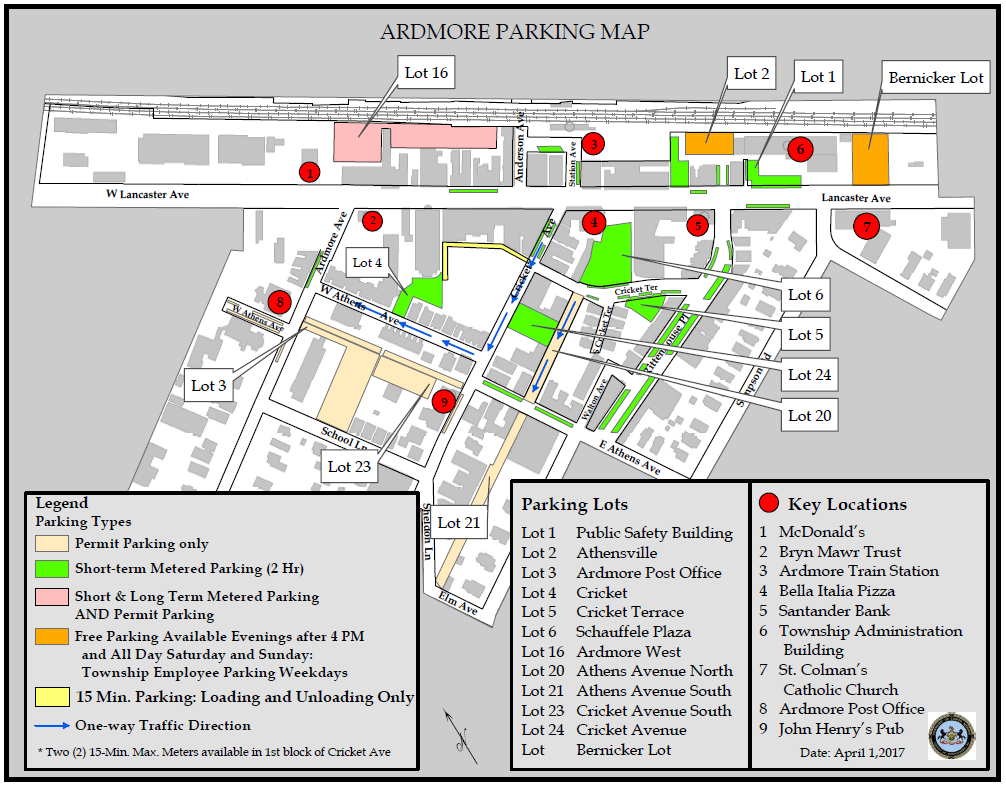 Ardmore, Parking, One Ardmore Place