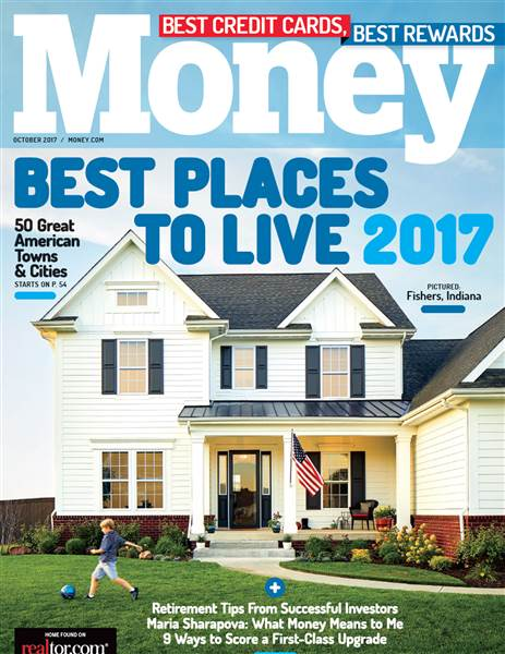 Money Magazine, 2017, best places to live