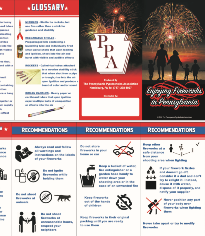Fireworks, safety, Fire Department
