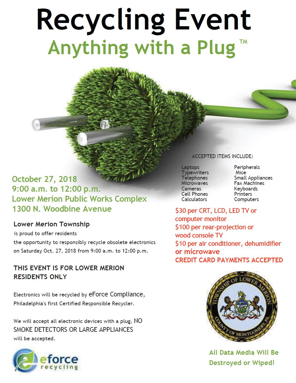 Anything with a Plug 10.27.2018