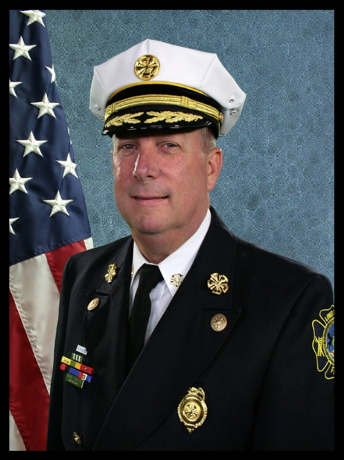 Charles J McGarvey, Chief Fire Officer/Fire Marshal