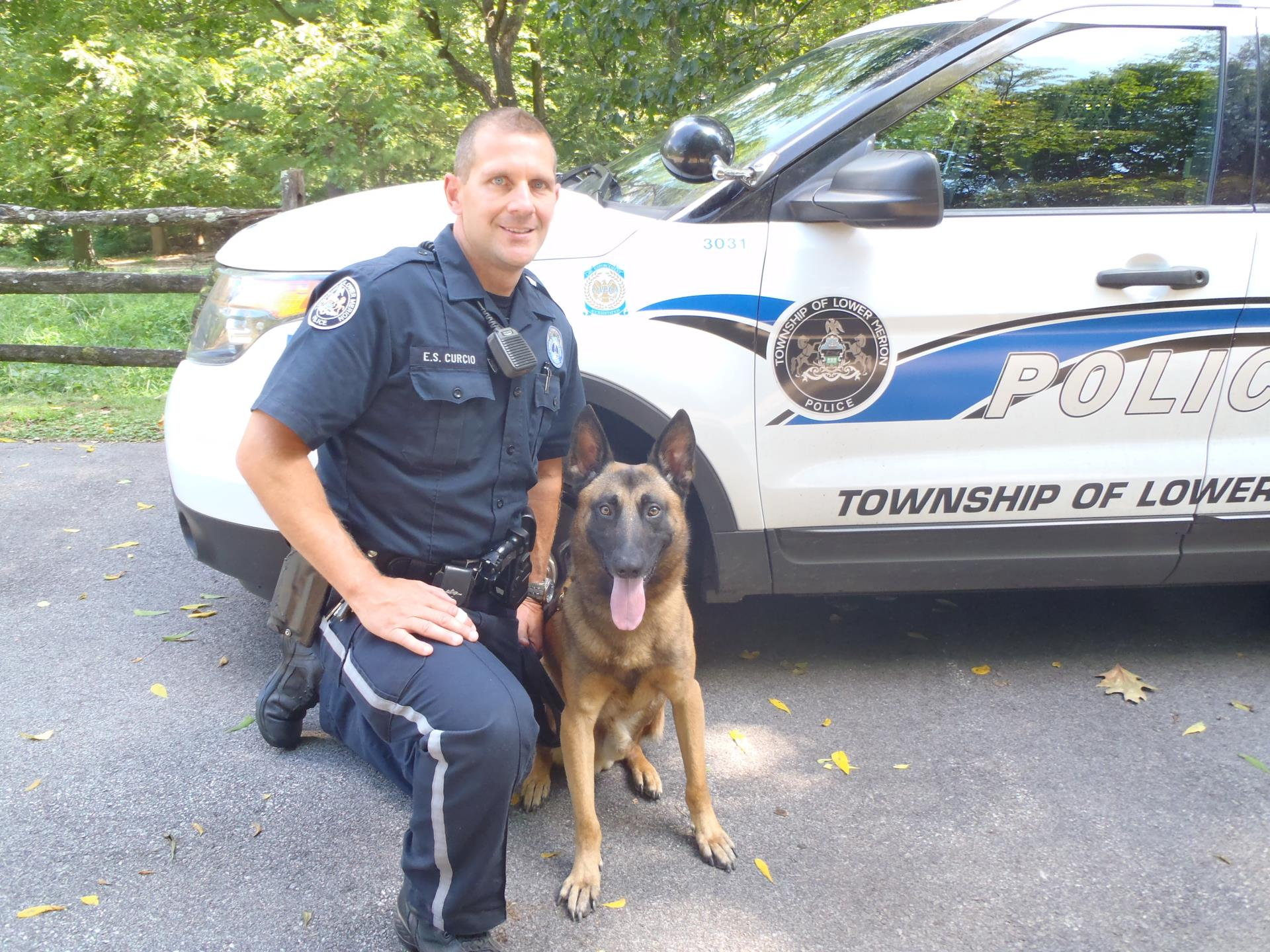 Canine Edo and Canine Officer Curcio
