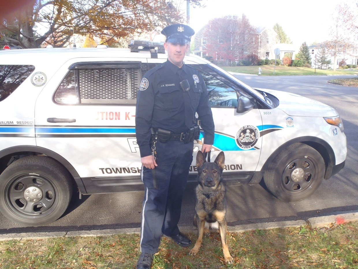 Canine Rookie and Canine Officer Seamans