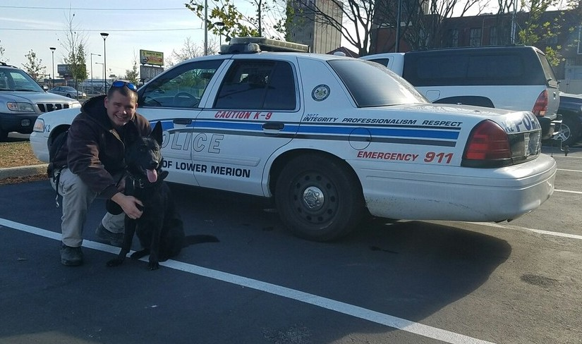 Canine Fearghas and Canine Officer Patton