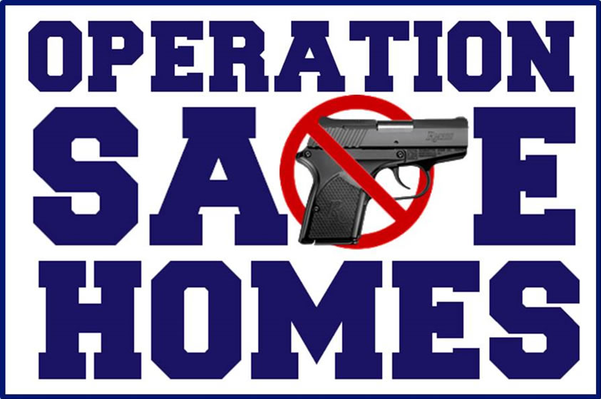 Operation Safe Homes, Gun Turn-in