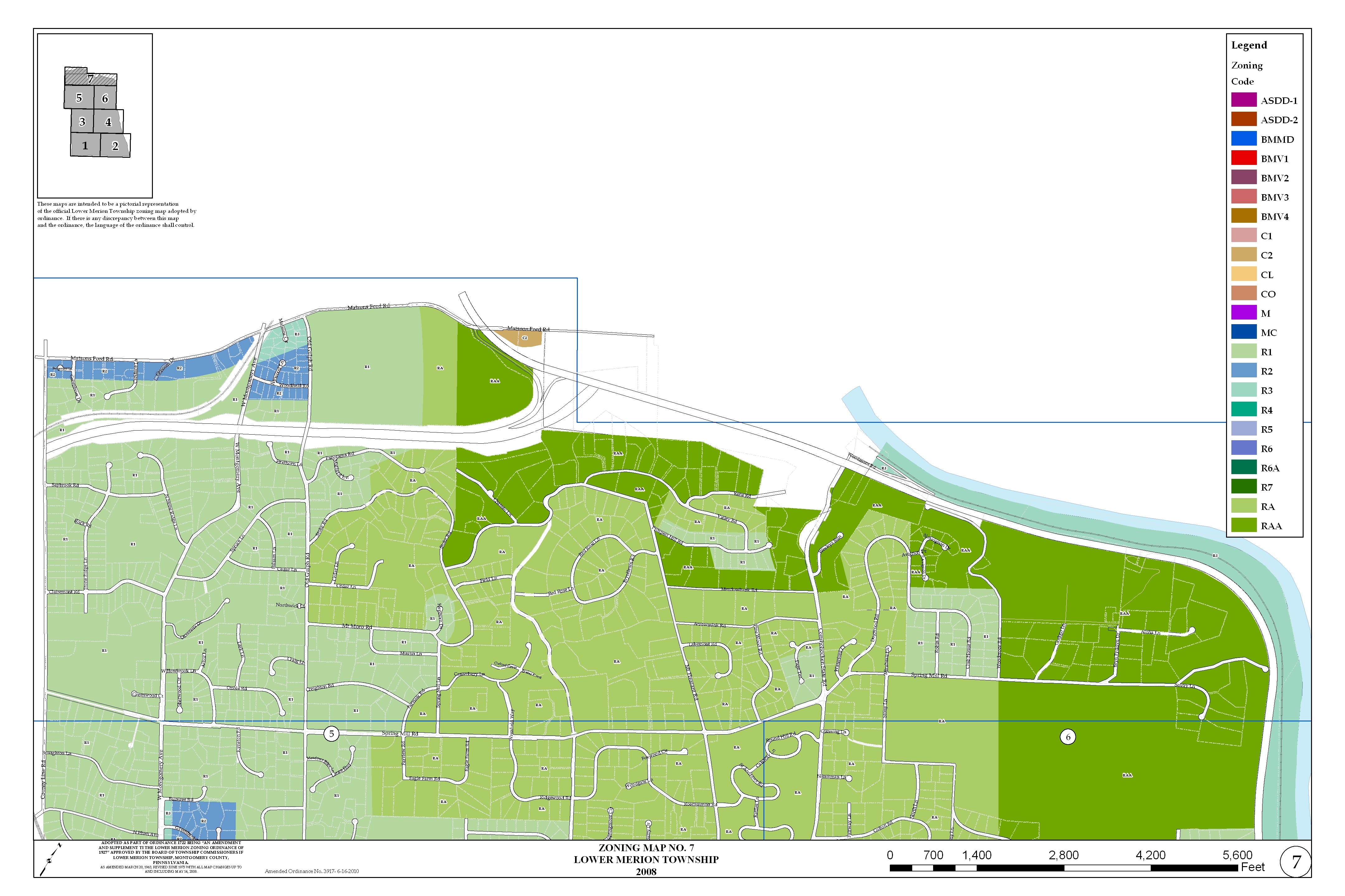 Zoning Maps Lower Merion Township Pa