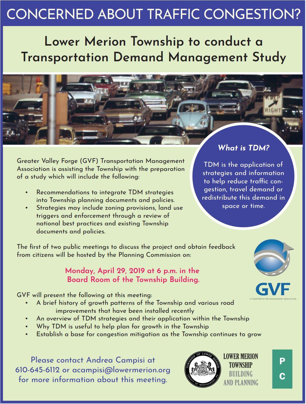 Traffic Demand Management, TDM, GVF