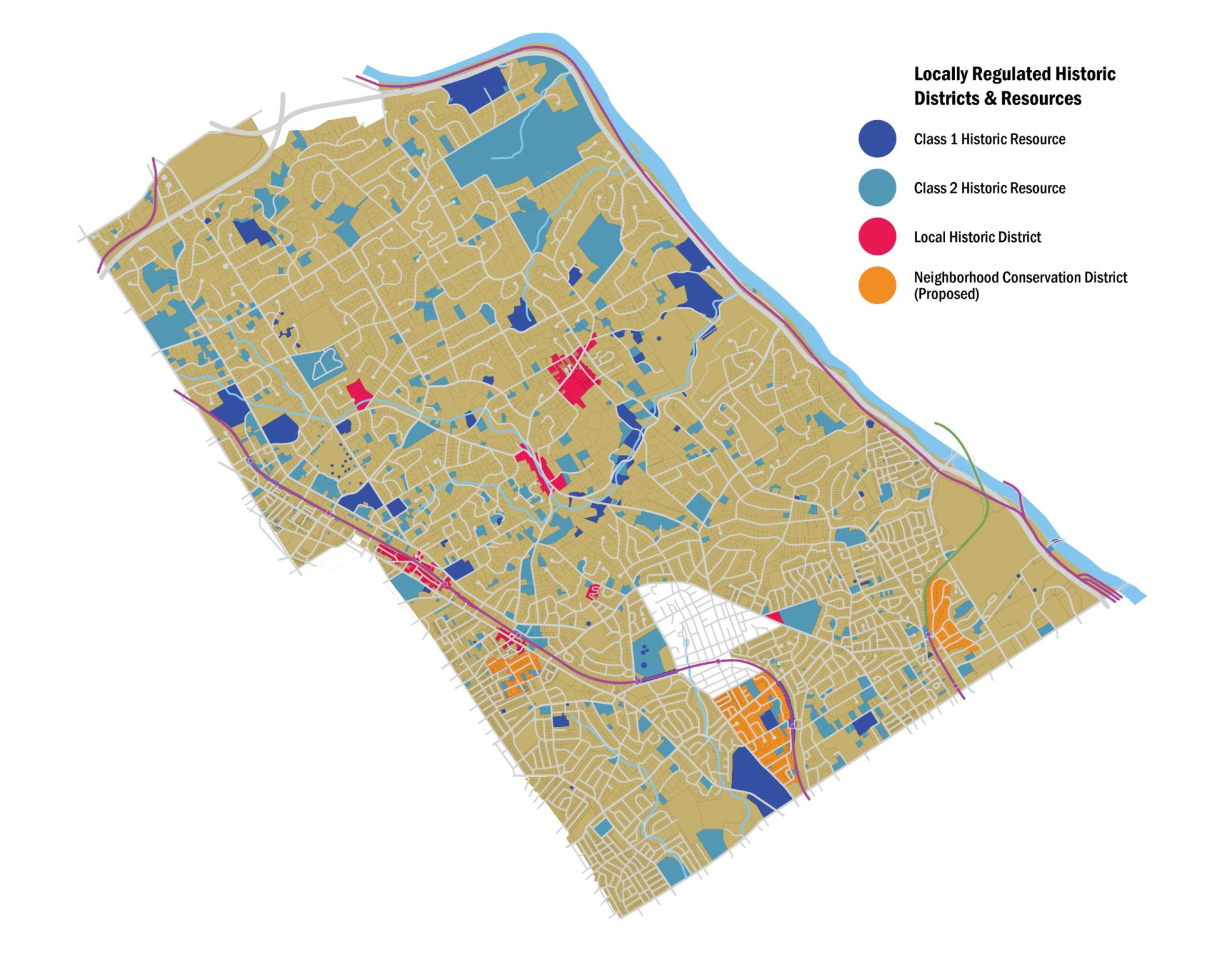 Township Map - HDs and NCDs